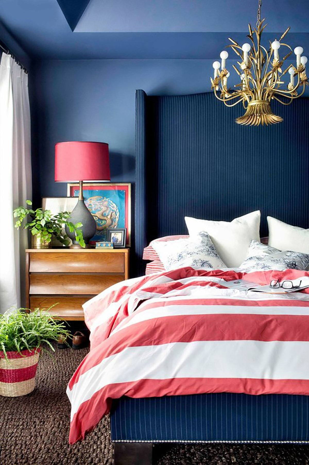 Best 10 Chic Ways To Decorate In Red White And Blue Love With Pictures