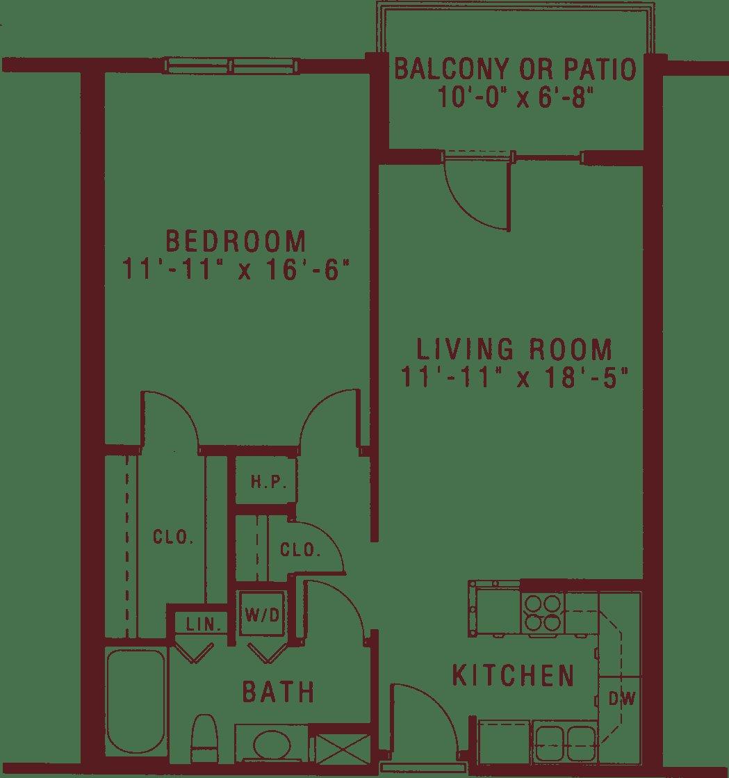 Best Spacious One Bedroom Apartments For Senior Living Riddle With Pictures