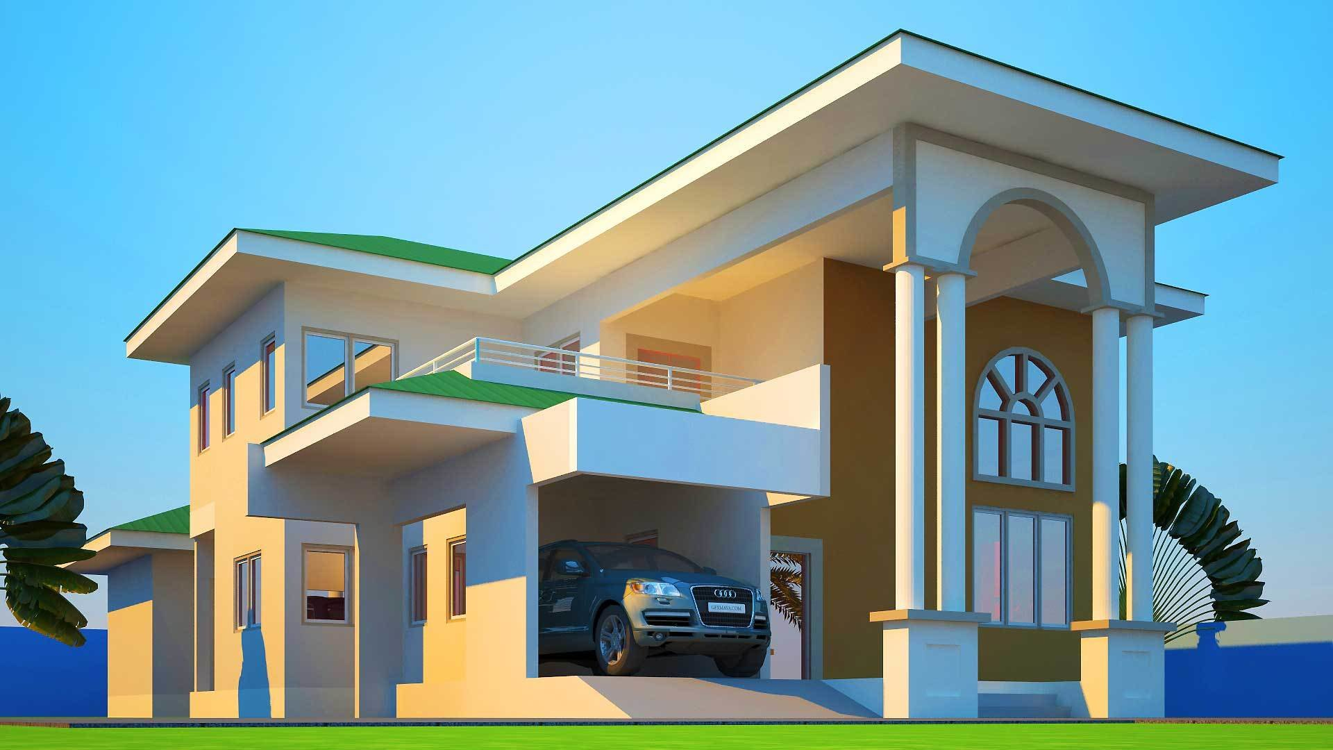 Best House Plans Ghana Mabiba 5 Bedroom House Plan With Pictures