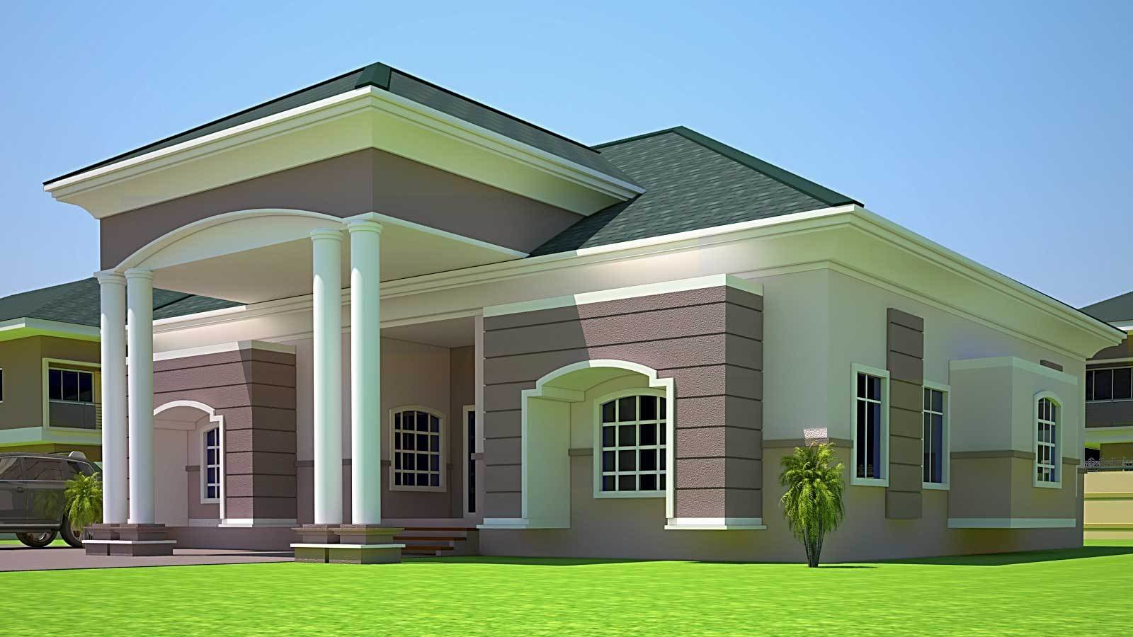 Best House Plans Ghana Holla 4 Bedroom House Plan In Ghana With Pictures