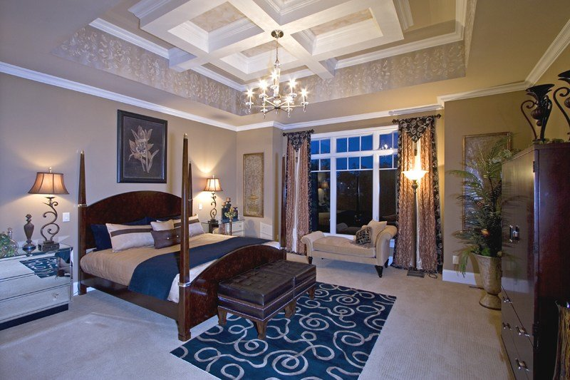 Best Custom Master Bedrooms Drawn By Studer Residential Designs Inc With Pictures