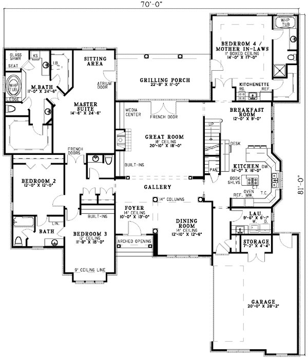 Best House Plans With Mother In Law Suites Plan W5906Nd With Pictures