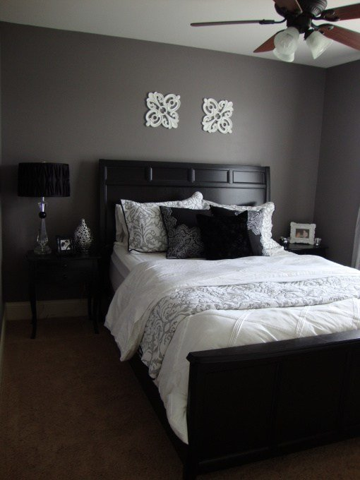 Best Purple Grey Guest Bedroom Bedroom Designs Decorating With Pictures