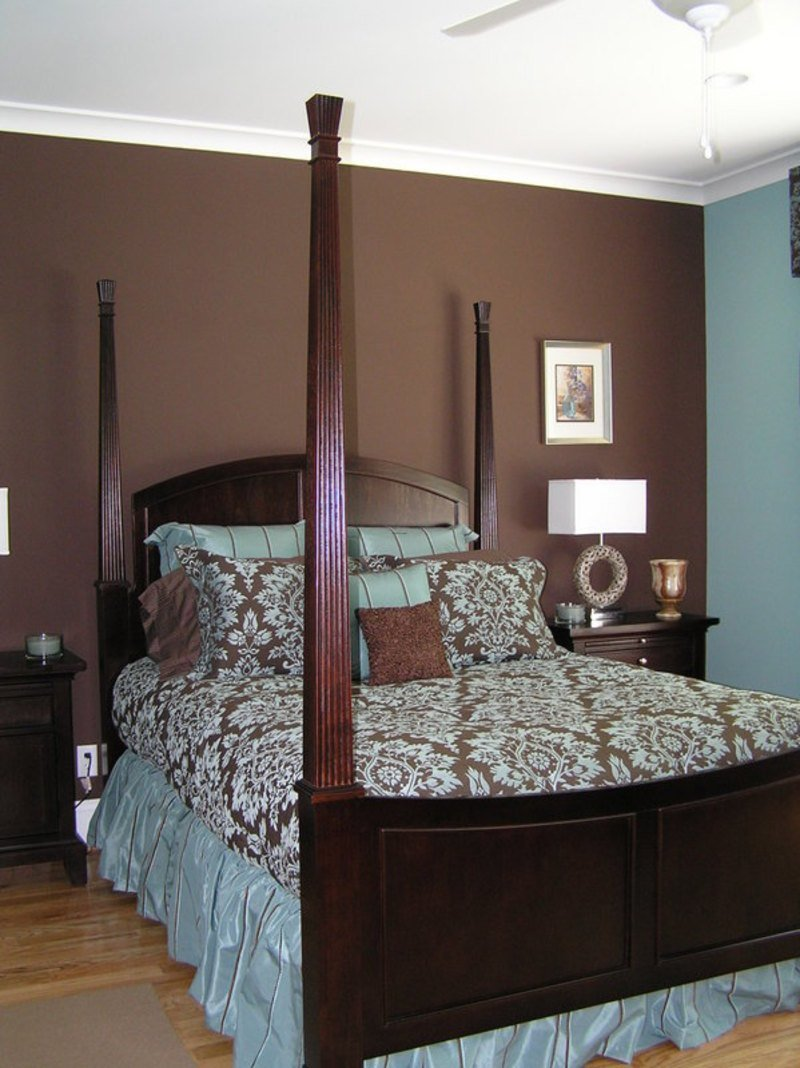 Best White Bedroom Decorating Brown And Blue Bedroom Walls With Pictures