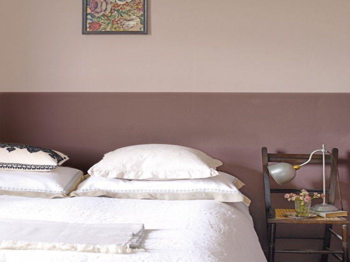 Best Pink And Silver Bedroom Ideas Two Tone Paint Walls Two With Pictures