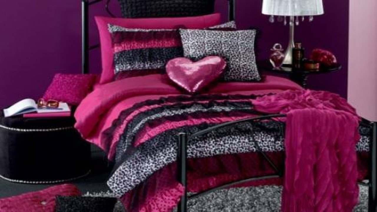 Best Bedroom Decor Accessories Snow Leopard Print Pink Leopard With Pictures