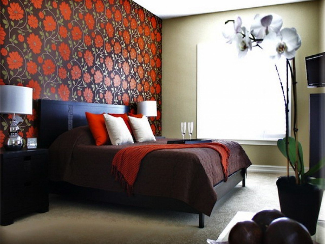 Best Bedroom Wallpaper Ideas Bedroom Decorating Ideas Borders With Pictures