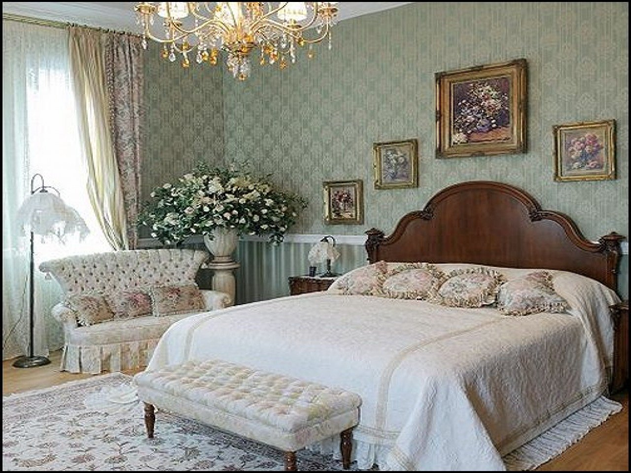 Best Bedroom Wallpaper Decorating Ideas Victorian Style With Pictures
