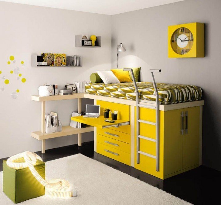 Best Great Space Saving Solutions For Small T**N Bedrooms With Pictures