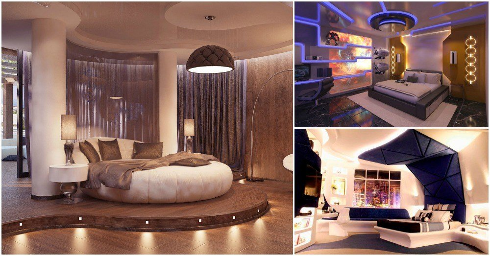 Best 17 Futuristic Bedrooms That Will Bl*W Your Mind With Pictures