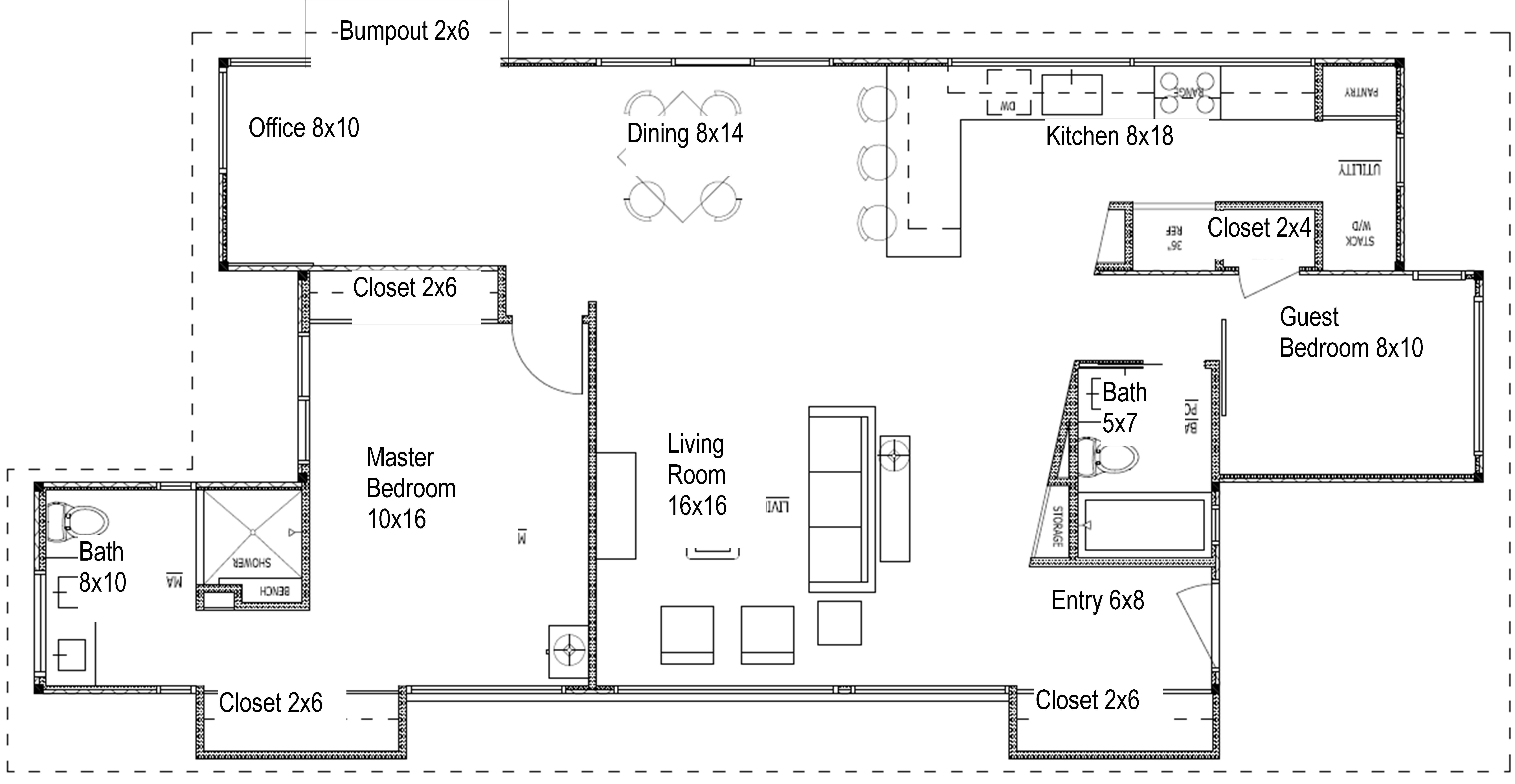 Best Ideas Standard Closet Dimensions With Minimum Dressing Space — Thehoppywanderer Com With Pictures