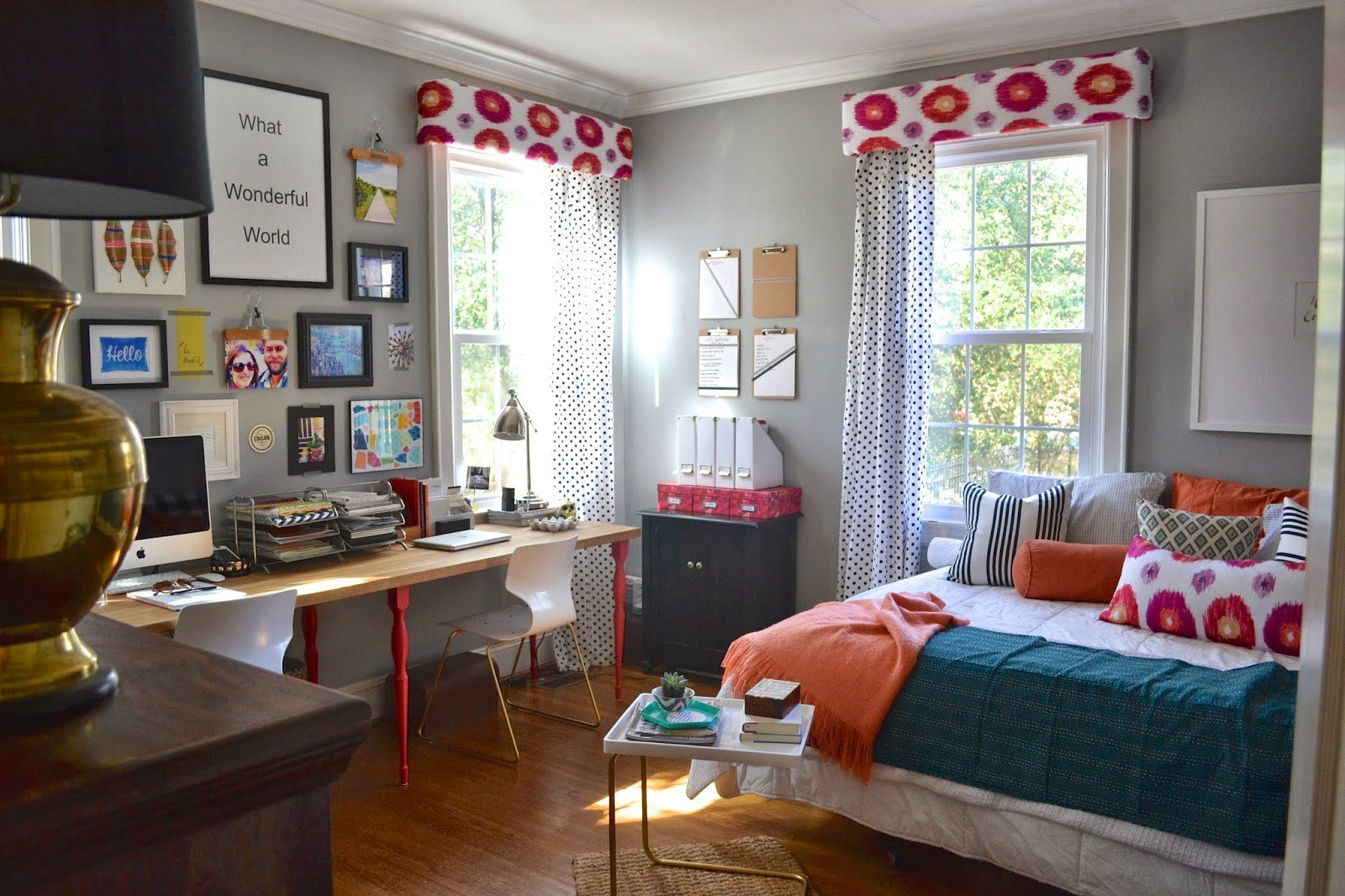 Best Changes To My Guest Room Office Reveal Design Post With Pictures