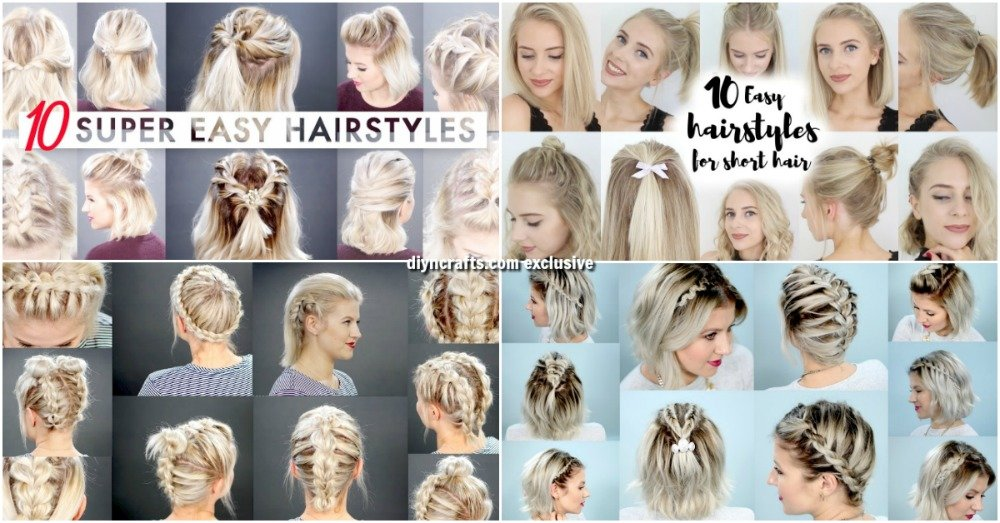 Free 40 Effortlessly Stress Free Diy Hairstyles For Glamorous Wallpaper