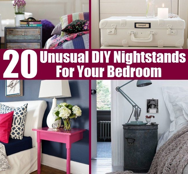Best 20 Unusual Diy Nightstands For Your Bedroom Diy Home Things With Pictures