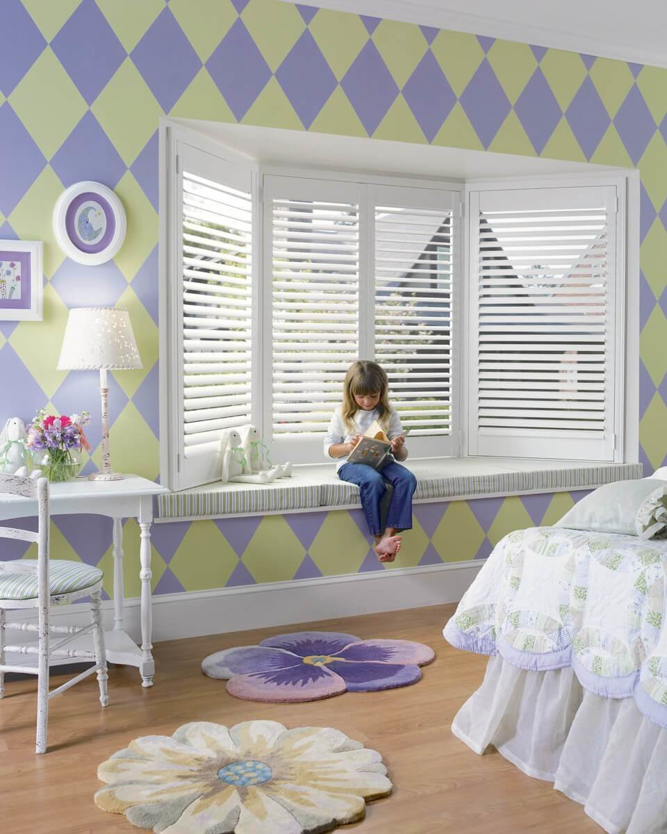 Best Hunter Douglas Shades And Blinds In A Nursery Or Kid S Room Drapery Street With Pictures