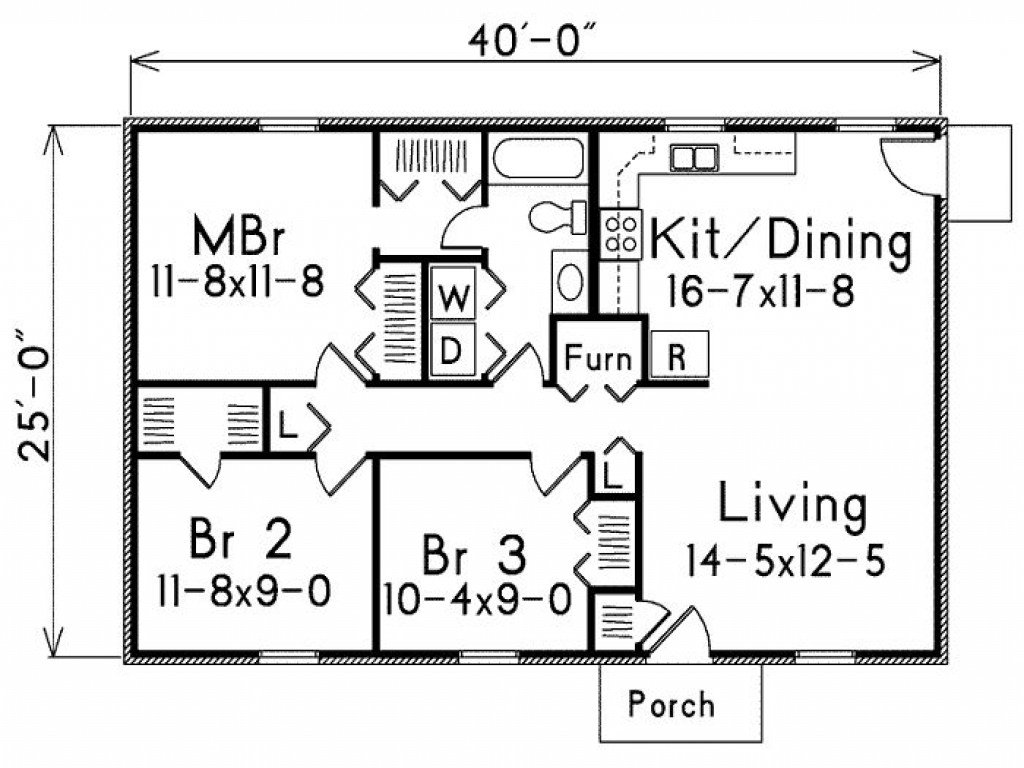 Best 1000 Square Foot House Plans 1 Bedroom 800 Square Foot With Pictures