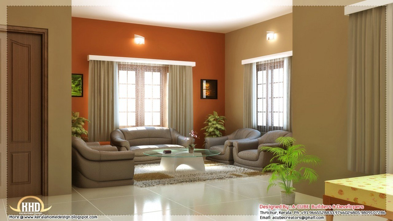 Best House Interior Design Color Schemes Family Room Interior With Pictures