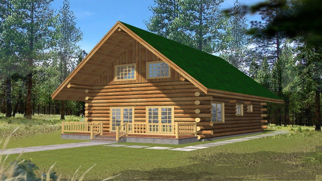 Best Small Log Cabins With Lofts 2 Bedroom Log Cabin Homes Kits With Pictures