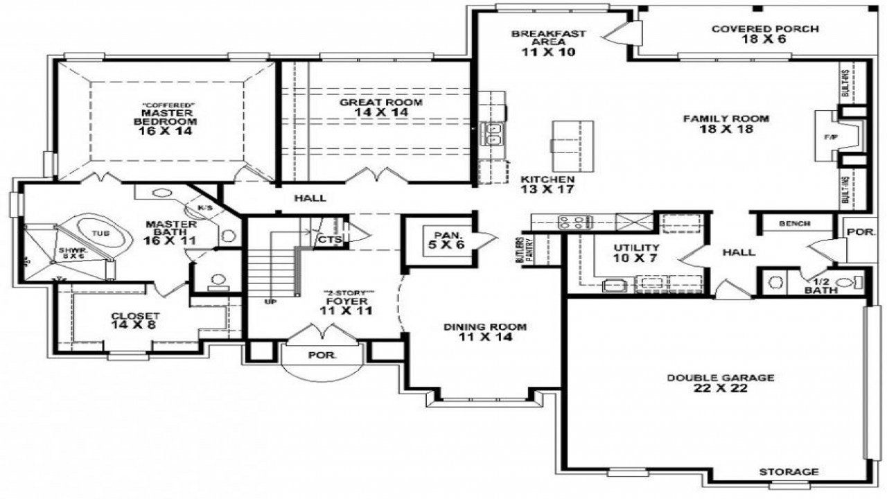 Best 4 Bedroom 3 Bath Mobile Home Floor Plans 4 Bedroom 3 Bath With Pictures