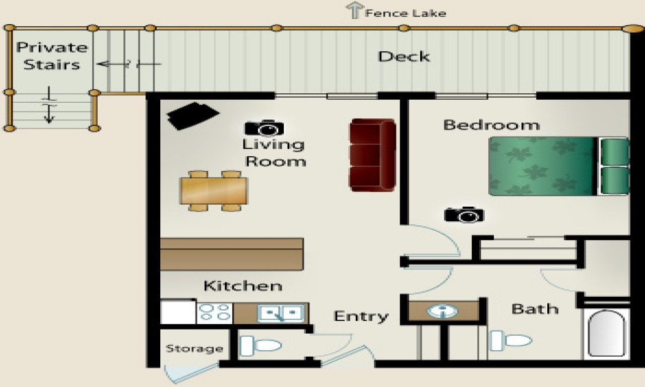 Best Small One Bedroom House Floor Plans Simple Small House With Pictures