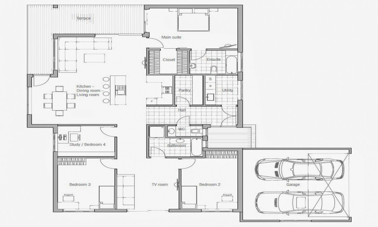 Best Affordable 3 Bedroom House Plans To Build 3 Small House With Pictures