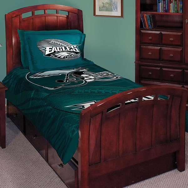 Best Philadelphia Eagles Nfl Twin Comforter Set 63 X 86 With Pictures