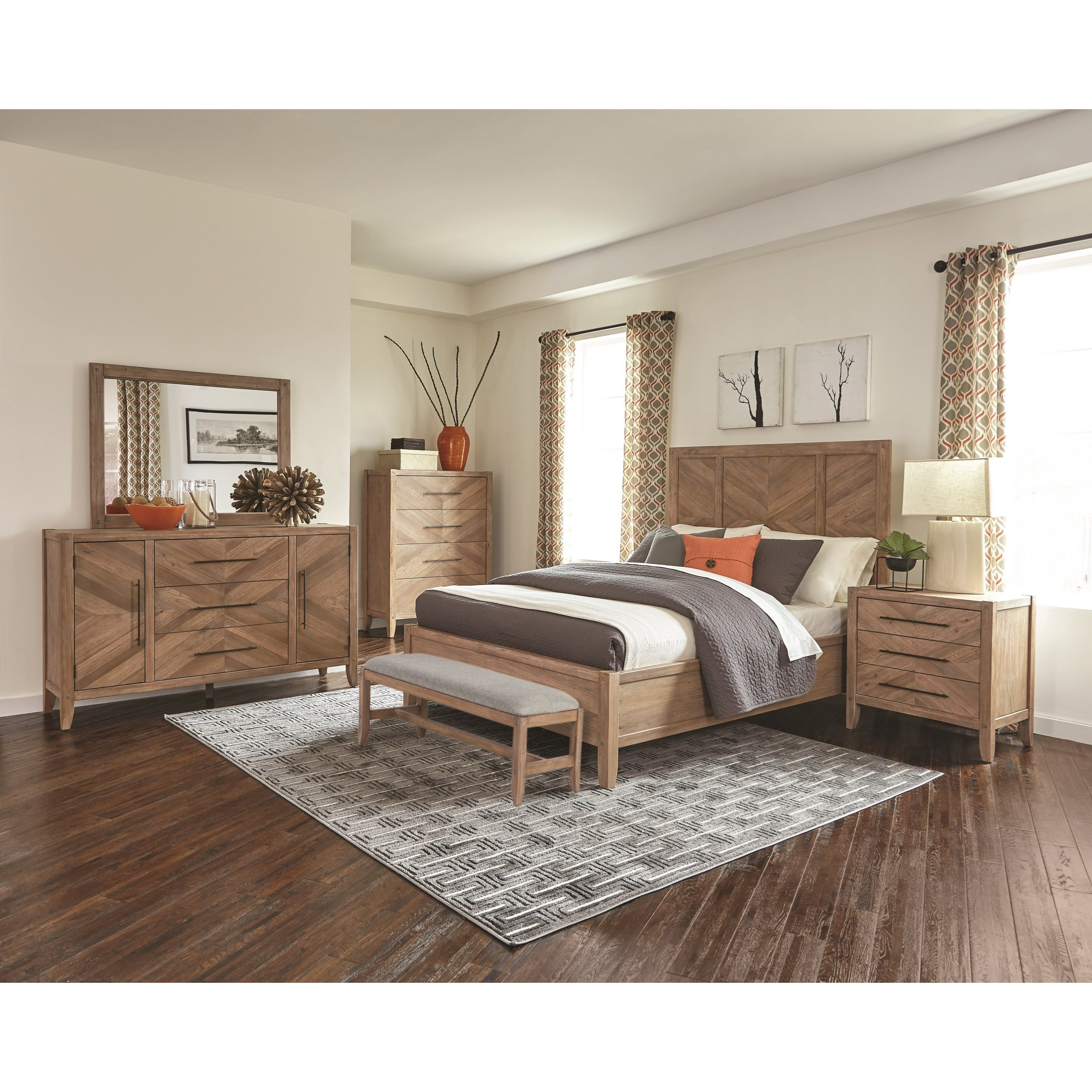 Best Auburn 4Pc Bedroom Set – Furniture Mattress Los Angeles With Pictures