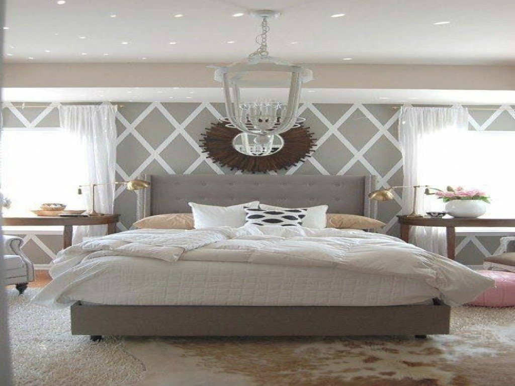 Best Simple Wall Decorating Ideas White Grey Bedroom Accent With Pictures