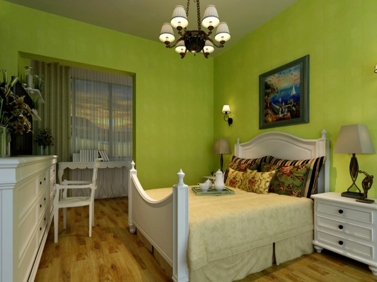 Best Interior Design Of Bedroom Furniture Sage Green Bedroom With Pictures