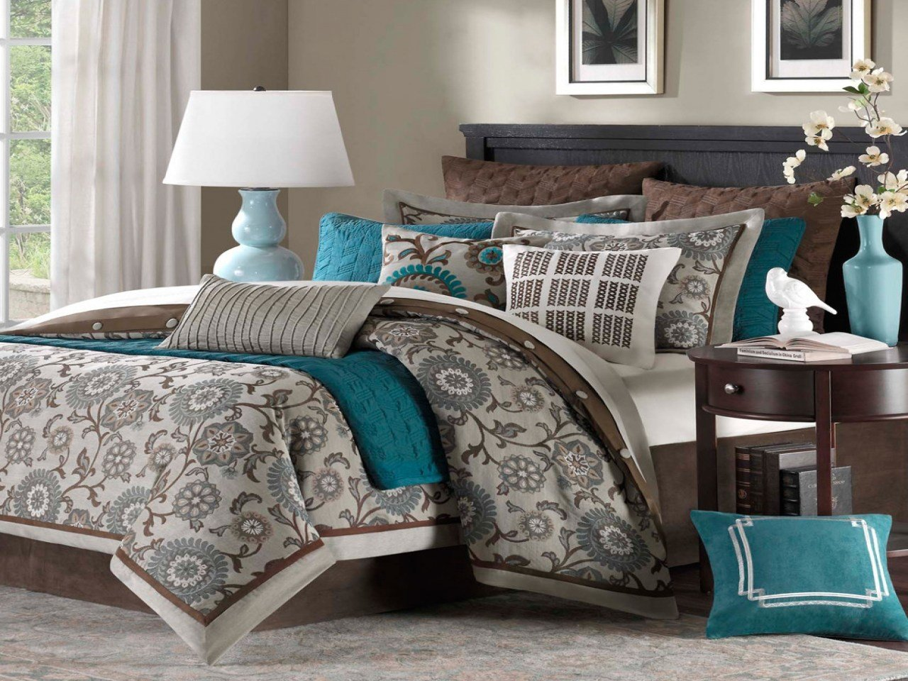 Best Paint Schemes For Bedroom Red And Teal Bedroom Teal With Pictures