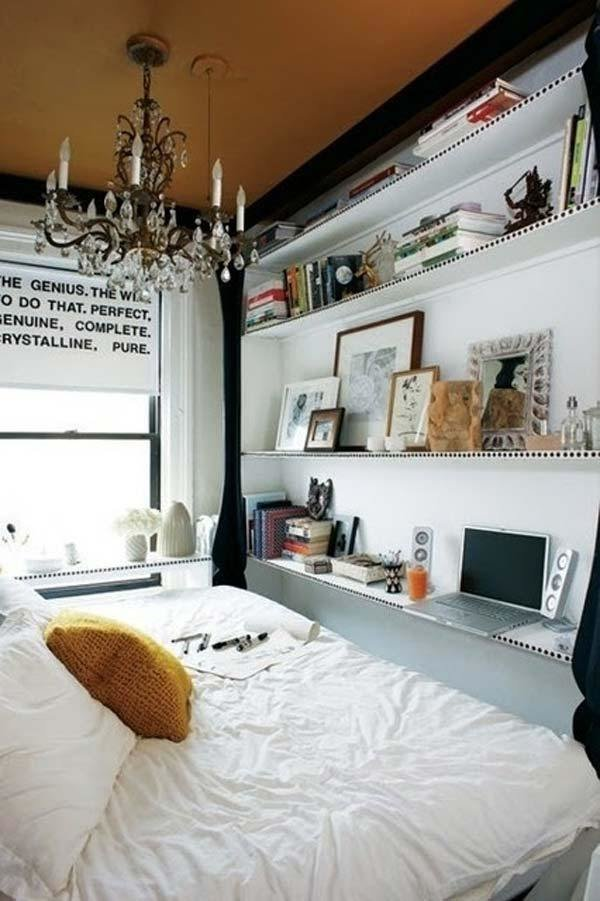 Best 20 Tiny Bedroom Hacks Help You Make The Most Of Your Space With Pictures