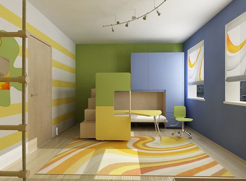 Best Awesome Full Color Kids Room Design Ideas Interior With Pictures