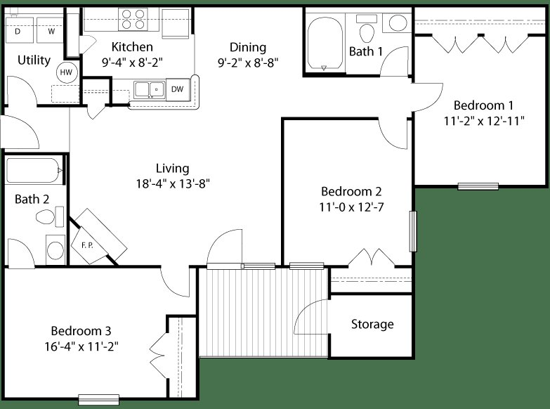Best Glade Creek Roanoke Va Apartments Floor Plans And With Pictures