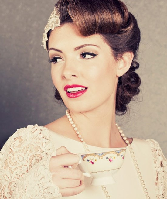 Free 10 Vintage Wedding Hair Styles Inspiration For A 1920S Wallpaper