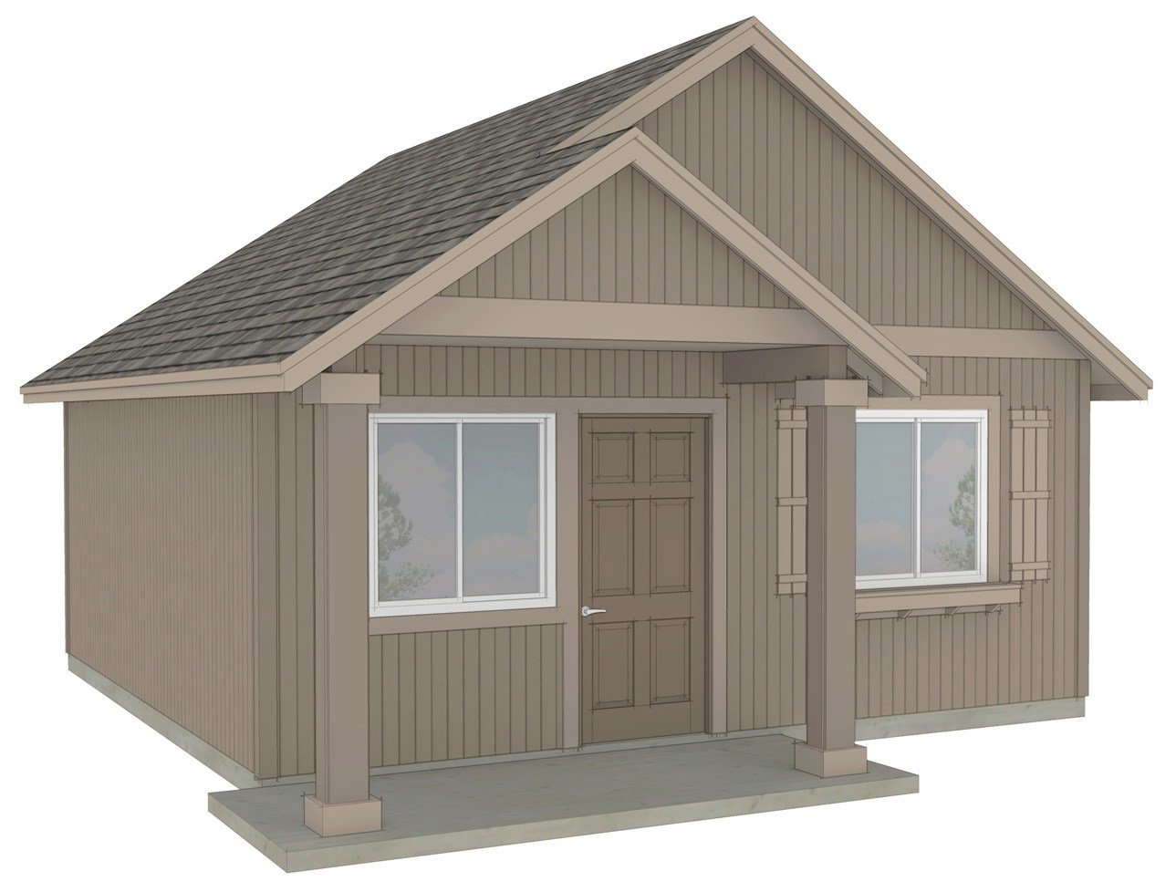 Best One Bedroom Cottage Plan Small One Bedroom Floor Plans With Pictures