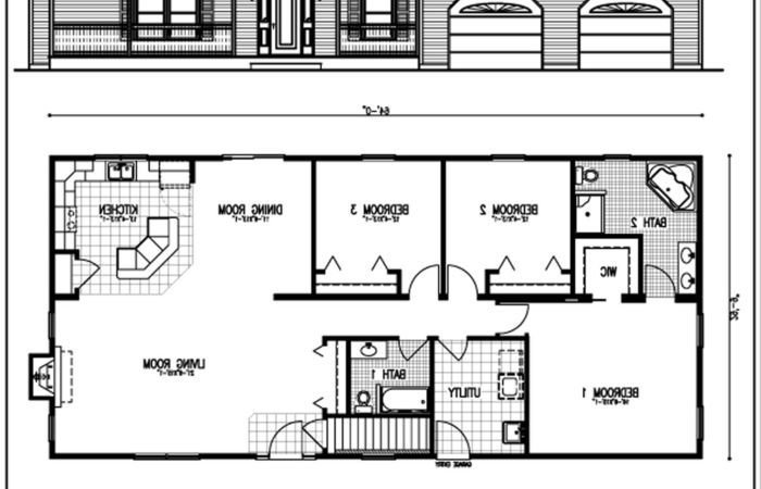 Best Modern House Plans Rear Entry Plan Split Bedroom Six With With Pictures