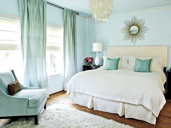 Best Cool Soft Seaside Blue Bedroom Design With Touches Of With Pictures