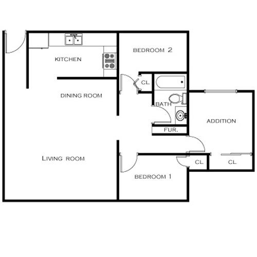 Best Floor Plans Holiday Manor Apartments In Oxnard Ca With Pictures