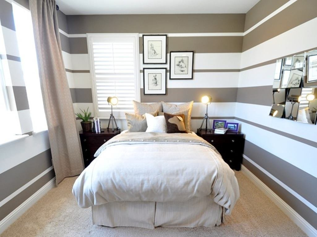 Best 20 Trendy Striped Bedroom Wall Design Ideas With Pictures