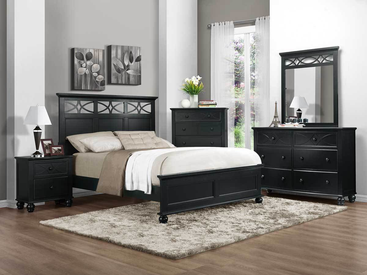 Best Homelegance Sanibel Bedroom Set Black With Pictures