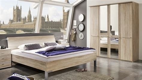 Best Contemporary Bedroom Furniture Sets » Stylform Athena Oak Bedroom Set Head2Bed Uk With Pictures