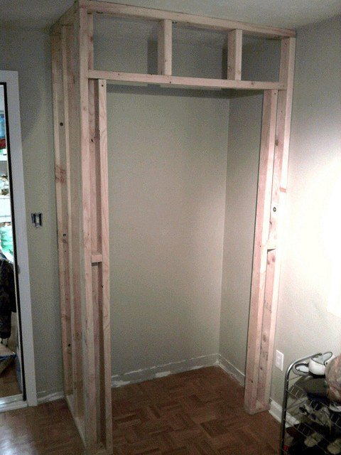 Best Great Tutorial On How To Build A Closet In An Existing With Pictures
