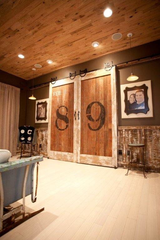 Best Rustic Sliding Doors The Big Numbers Or Letters Are A With Pictures