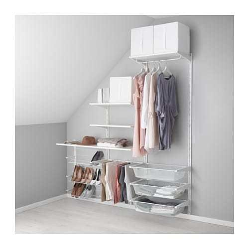Best Algot Wall Upright Shelves Pants Hanger Ikea With Pictures