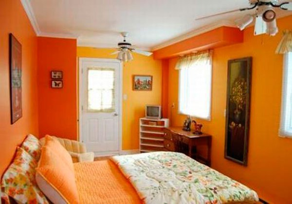 Best Orange And Yellow Bedroom Design Ideas Ideas For Interior With Pictures