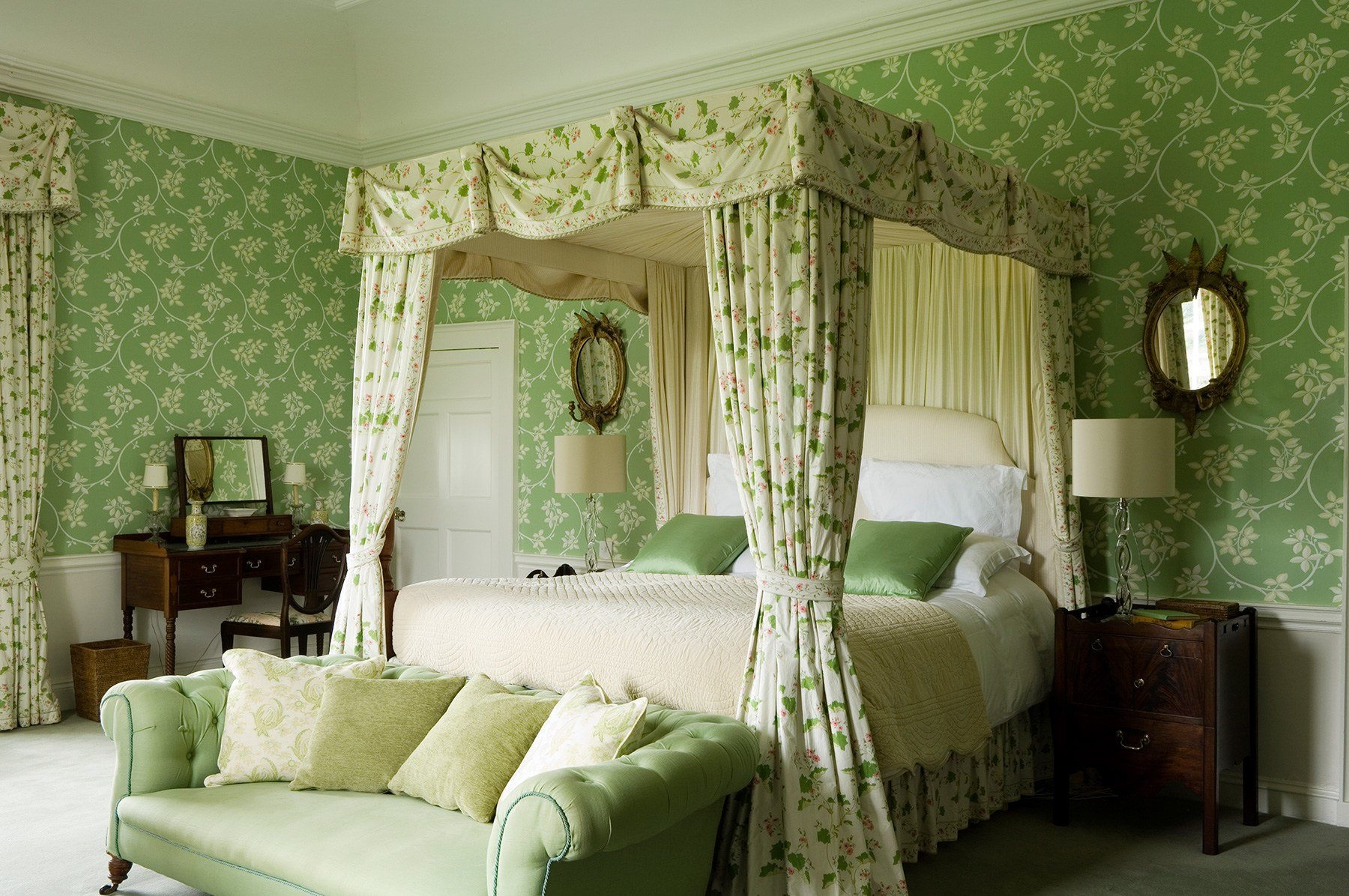 Best Irish Country Green Bedroom Interiors By Color With Pictures