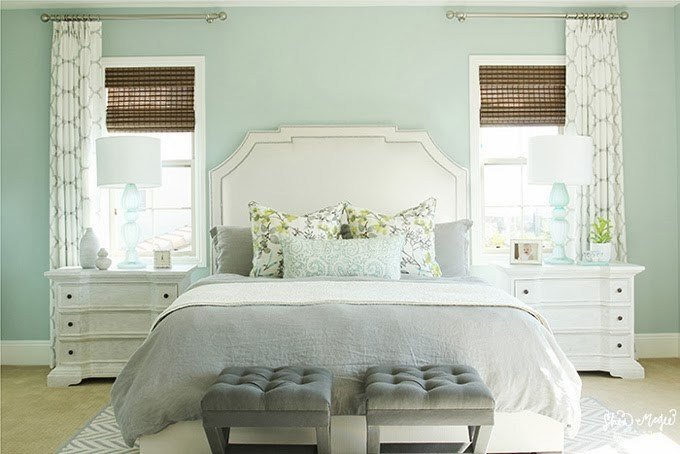 Best Palladian Blue Master Bedroom Interiors By Color With Pictures
