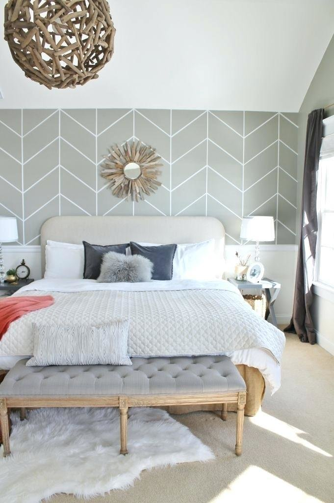 Best Bedroom Wall Treatment Ideas Best Accent Designs On Paint With Pictures