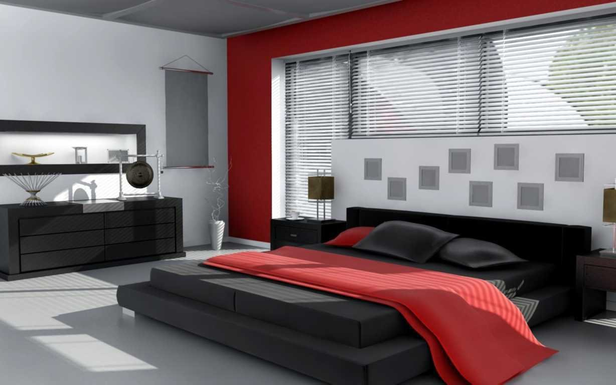 Best Red And Black Color Scheme For Bedroom Khabars Net With Pictures