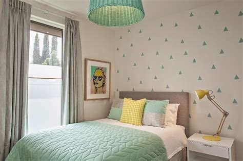 Best Fresh Mint And Grey Modern Big Girl's Bedroom Kidsomania With Pictures